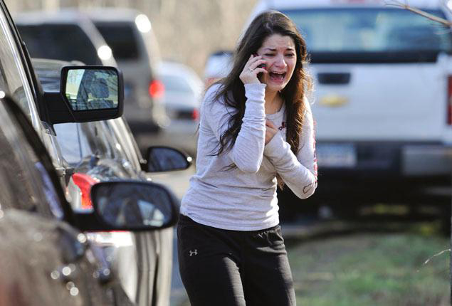 This photo of Carlee Soto was taken Friday, Dec. 14 by AP photojournalist Jessica Hill.