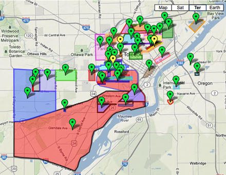 When police wouldn't release a gang map, Toledo Blade crime reporter drew her own | Poynter.