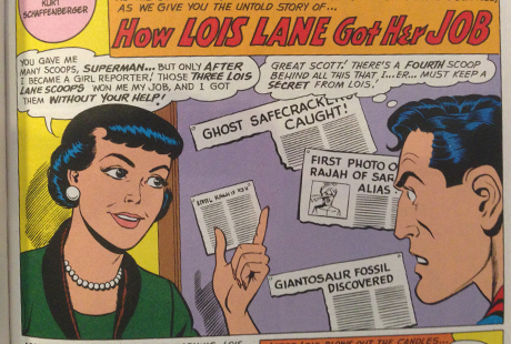 From Superman's Girlfriend Lois Lane #29 (published 1961)