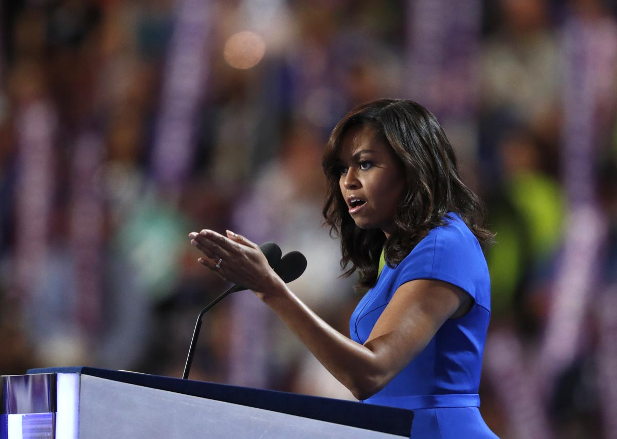8 writing lessons from Michelle Obama's DNC speech - Poynter