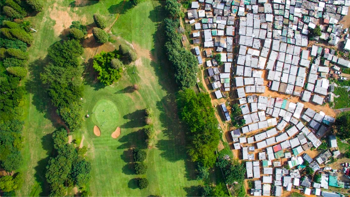 Papwa Sewgolum golf course in Durban, South Africa. (Photo by Johnny Miller)