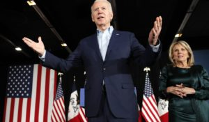 Democratic presidential candidate Joe Biden. (AP Photo/John Locher)