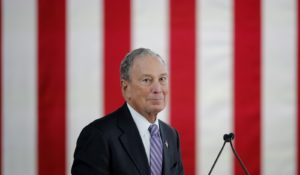 Democratic presidential candidate Mike Bloomberg. (AP Photo/Gerald Herbert)