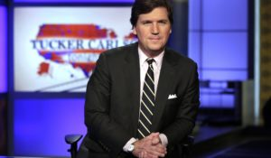 Fox News' Tucker Carlson. (AP Photo/Richard Drew, File)