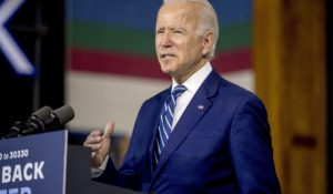 Democratic presidential candidate Joe Biden. (AP Photo/Andrew Harnik)