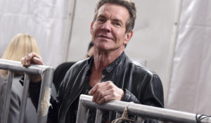 Actor Dennis Quaid arrives at the 62nd annual Grammy Awards. Politico reports that Quaid is part of a new ad campaign from the U.S. health department. (Photo by Jordan Strauss/Invision/AP)