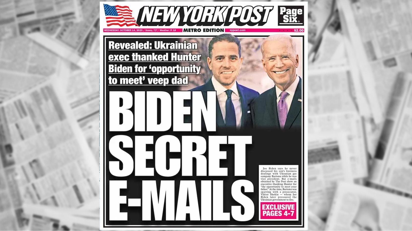 Ist die Geschichte der New York Post über Hunter Bidens Laptop legitim?  So bilden Sie sich ein eigenes Urteil.  - Poynter