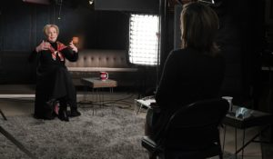 "Dr. Deborah Birx, left, in an interview with ""Face the Nation"" moderator Margaret Brennan. (Courtesy: CBS News)"