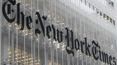 The New York Times   building in New York (AP Photo/Richard Drew, FIle)
