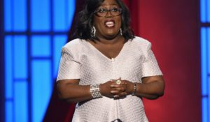 """The Talk"" co-host Sheryl Underwood in 2019 (Photo by Chris Pizzello/Invision/AP)"