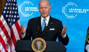 President Joe Biden speaking last week in Washington. (AP Photo/Evan Vucci)