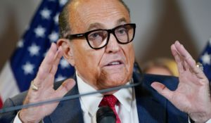 Former Mayor of New York and Donald Trump attorney Rudy Giuliani (AP Photo/Jacquelyn Martin)