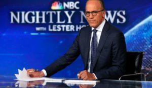 NBC News' Lester Holt. (AP Photo/Richard Drew)