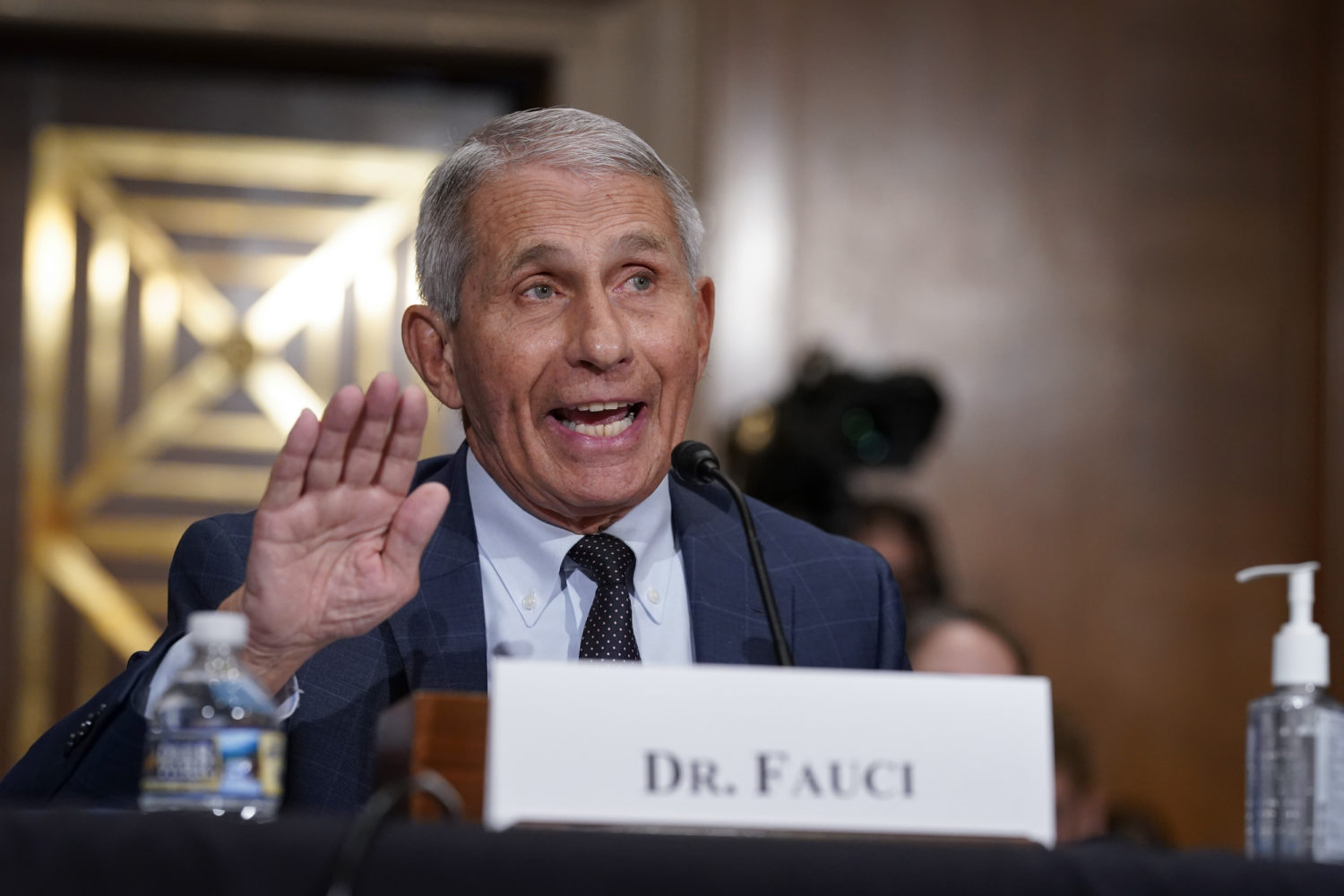Fact check: Fauci and HHS officials are not 'plotting' for a new flu virus to force vaccinations